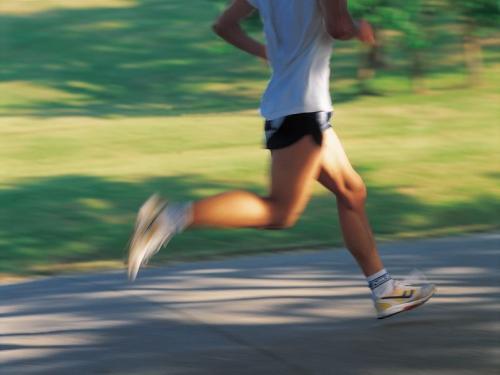 run blur